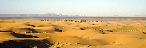 Sahara at Merzouga